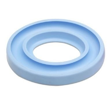 Porta Bobina Circular  Azul