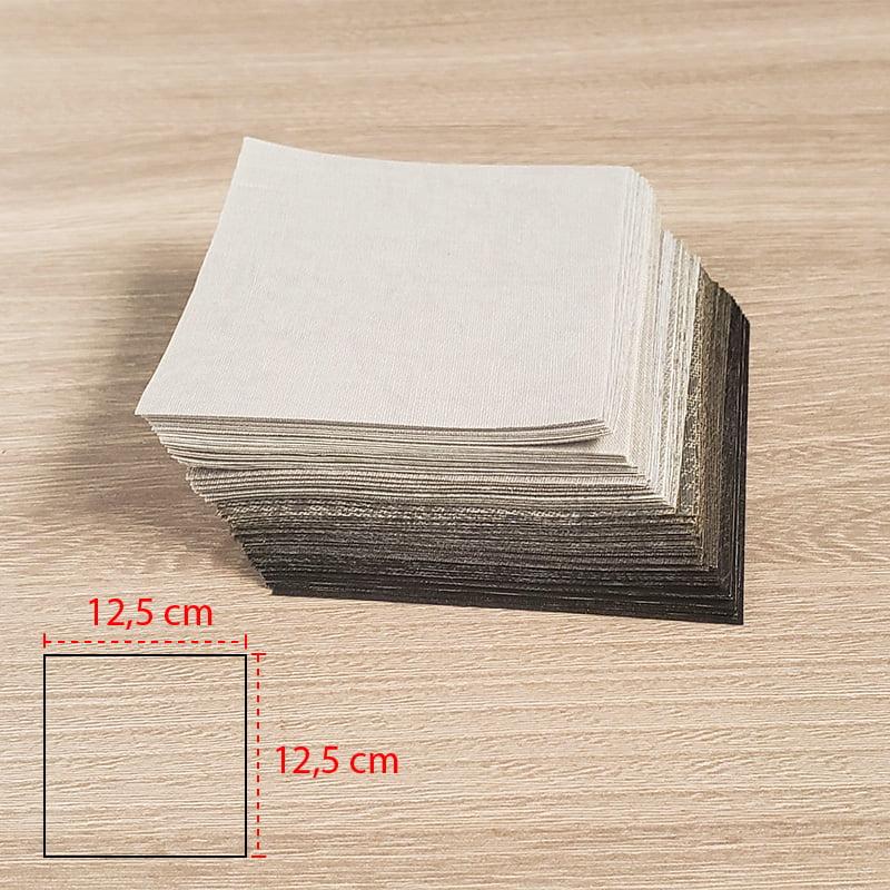 Kit Quadradinhos de Tecidos Alecrim 12,5x12,5 cm Coleção Inverno