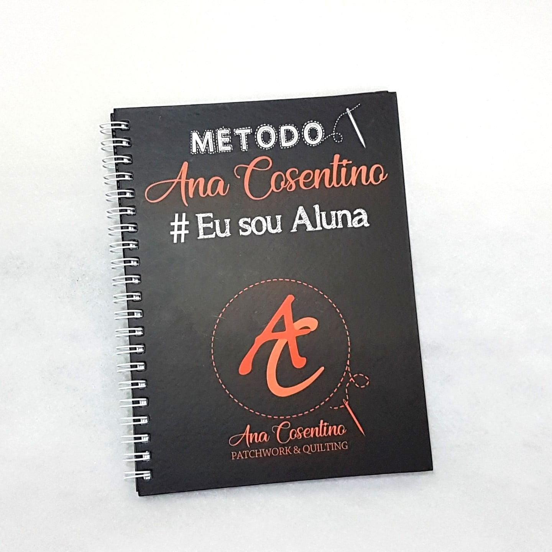 Caderno Quadriculado - Método Ana Cosentino