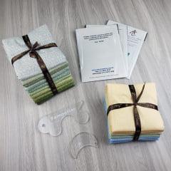 Combo de Tecidos Coleção Amazônia + Coleção Citra + BRINDES