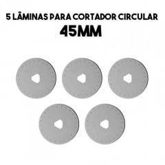 Combo Lâminas 45mm (Pague 4 e leve 5)