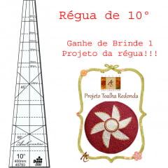 Combo Régua 10º + Projeto de Brinde (095)