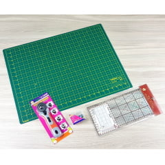 Kit Básico de Materiais de Patchwork
