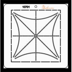 Estêncil de Quilting Diretrizes - 10701