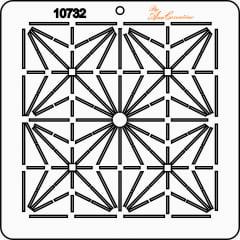 Estêncil de Quilting Diretrizes - 10732