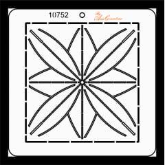 Estêncil de Quilting Diretrizes - 10752