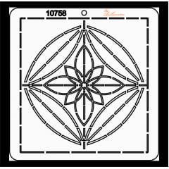 Estêncil de Quilting Diretrizes - 10758