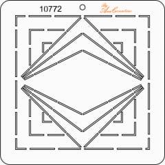 Estêncil de Quilting Diretrizes GRANDE 10772