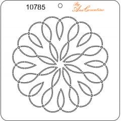 Estêncil de Quilting (Pequeno) - 10785