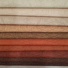 Kit Tecidos Alecrim com 10 cortes de 1m x 1,40m (Total de 10m no Kit) Coleção Chocolate