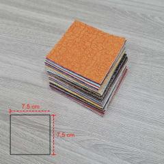 Kit Quadradinhos 7,50 x 7,50 cm Sortidos (100 quadradinhos)