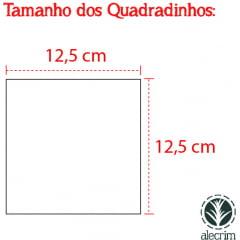 KIT QUADRADOS 12,5 X 12,5 CM COLEÇÃO CARIBE