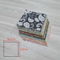 KIT QUADRADOS 12,5 X 12,5 CM COLEÇÃO Cashmere II