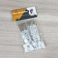 Botão Tic Tac - Branco