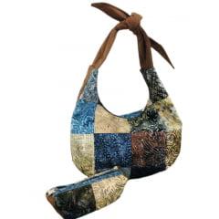 Projeto Bolsa Quadrados Batik (055)