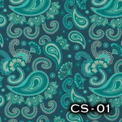 Tecido Tricoline 100% Algodão Alecrim Tecidos Cashmere CS-01