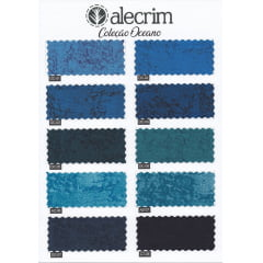 Coleção Oceano - Tecido Alecrim OC-01