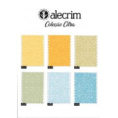Kit de Tecidos para Patchwork Alecrim Coleção Citra - Kit com 6 cores