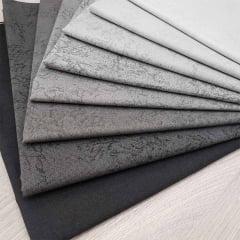 kit de Tecidos para Patchwork Alecrim Coleção Inverno - Kit com 8 Cores