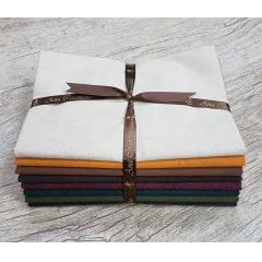 Kit Tecidos Alecrim (1 metro) - Coleção Country