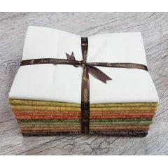Kit Tecidos Alecrim (1 metro) - Coleção Outonal