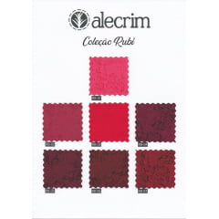 Kit Tecidos Alecrim (1 metro) - Coleção Rubi
