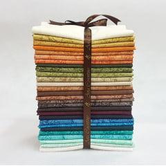 Kit Tecidos Alecrim - Três Coleções (Outonal/Caribe Antiga/Country)