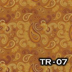 TRICOLINE 100% ALGODÃO ALECRIM TECIDOS Terracota - TR-07