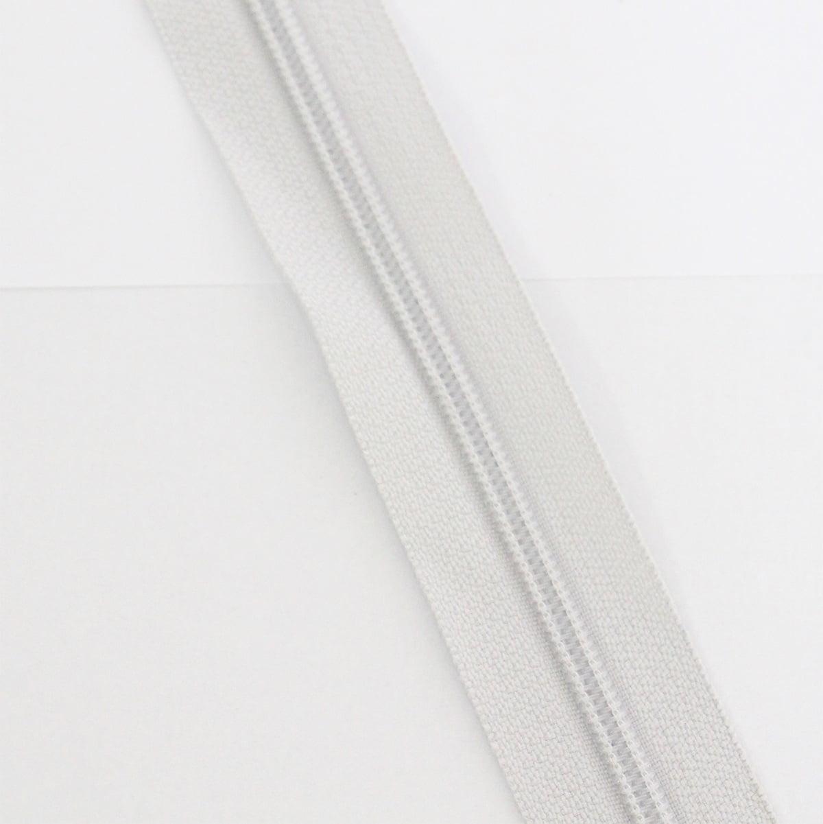Zíper Metro 4,5mm - Gelo