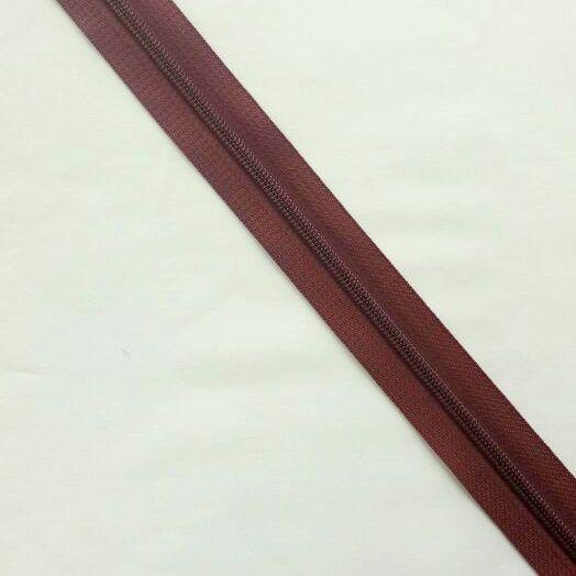 Zíper Metro 4,5mm - Marrom