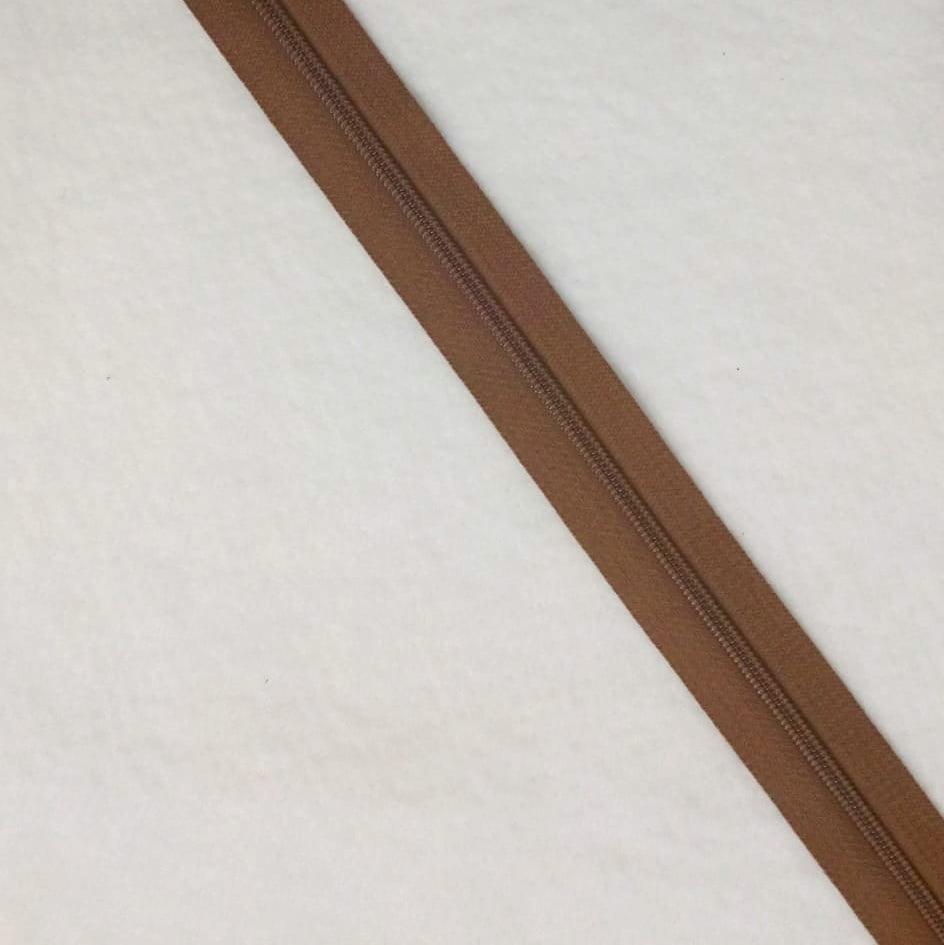 Zíper Metro 4,5mm - Marrom Claro