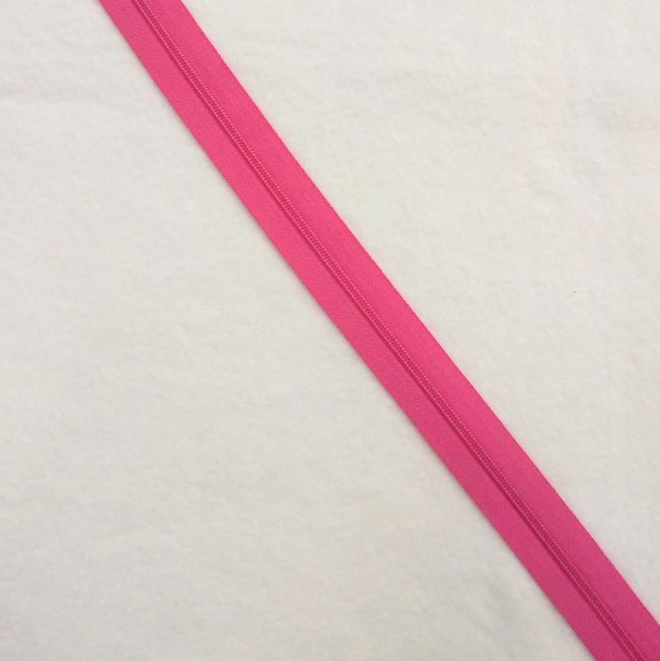 Zíper Metro 4,5mm - Rosa