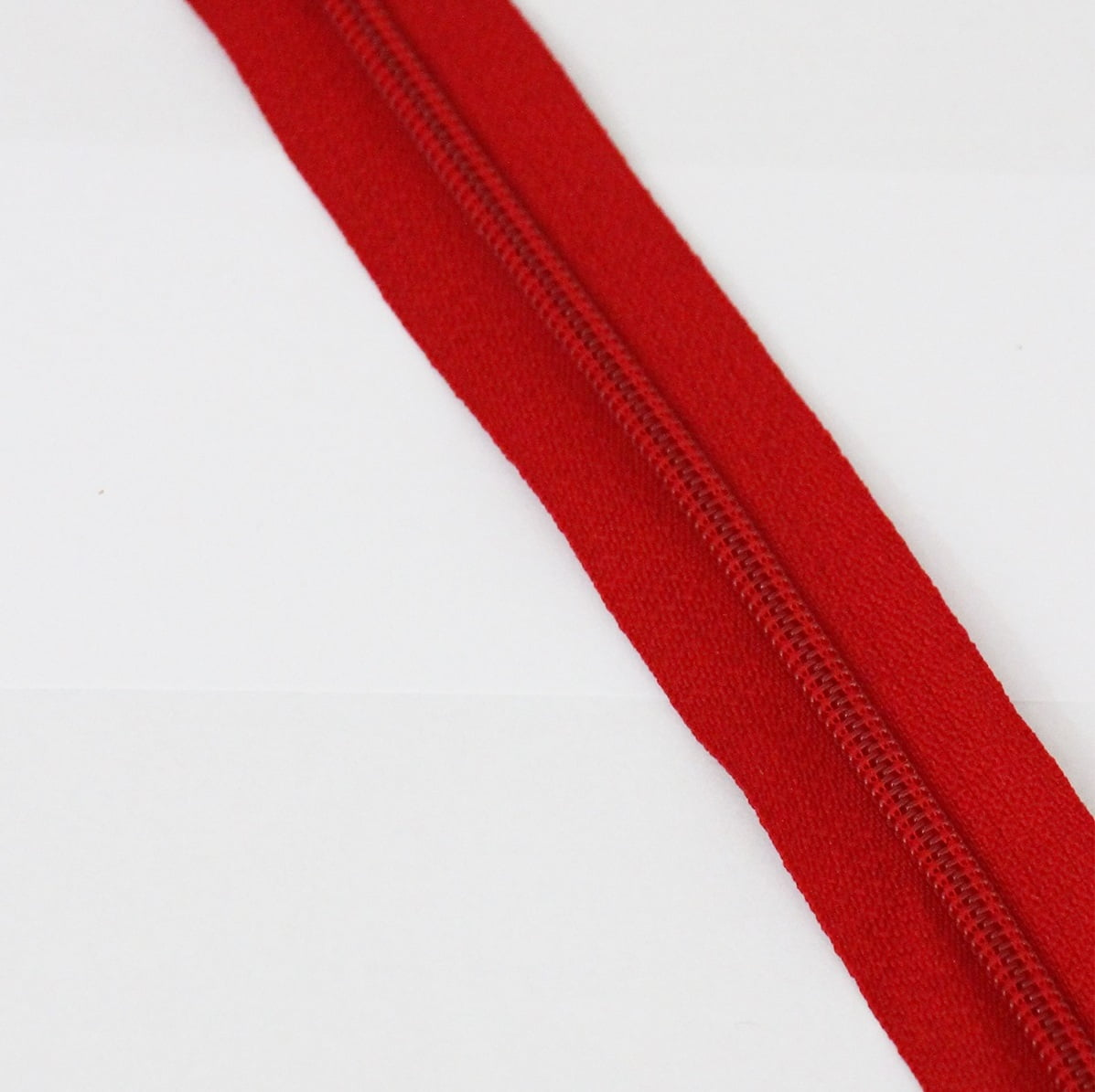 Zíper Metro 4,5mm - Vermelho